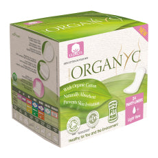 Organyc - Panty Liners - Light Flow with organic cotton folded (24 Pieces)
