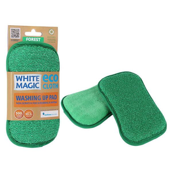 White Magic Eco Cloth Green Washing Pad each