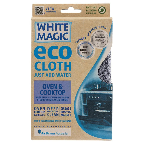 White Magic Eco Cloth Oven Cooktop , Grocery-Cleaning - HFM, Harris Farm Markets  - 1
