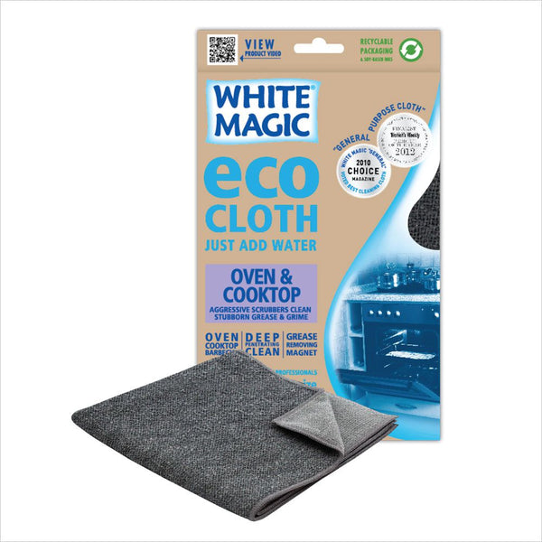 White Magic - Eco Cloth - Oven Cooktop (1 cloth)