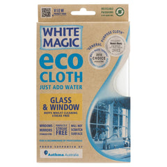White Magic Eco Cloth Glass Window , Grocery-Cleaning - HFM, Harris Farm Markets  - 1