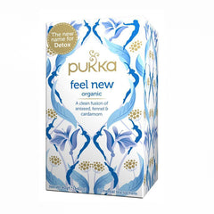 Pukka Tea - Feel New Organic | Harris Farm Online