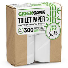 Greencane - Toilet Paper (4 Rolls X 300 sheets)