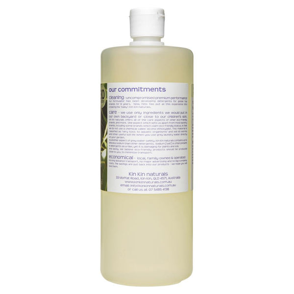 Kin Kin Naturals Eco Laundry Liquid Eucalypt & Lemon Myrtle 1050mL , Grocery-Cleaning - HFM, Harris Farm Markets  - 2