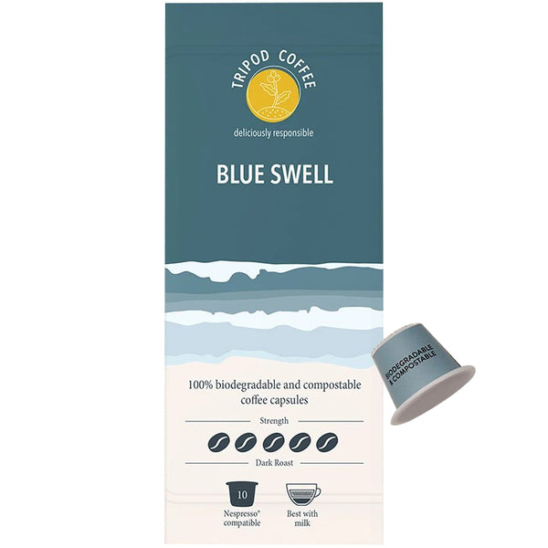 Tripod Coffee Blue Swell Coffee Dark Roast | Harris Farm Online