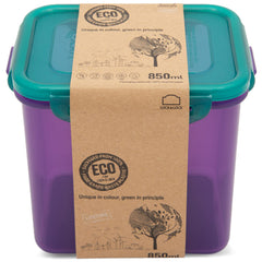 LocknLock Eco Rectangular Tall Container 850ml | Harris Farm Online