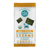 Honest Sea - Organic Roasted Seaweed Snack - Sesame (6pk x 5g)