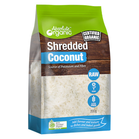 Absolute Organic - Shredded Coconut (200g)