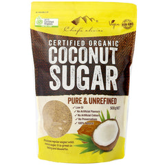 Chef's Choice - Organic Coconut Sugar - Pure & Unrefined (500g)