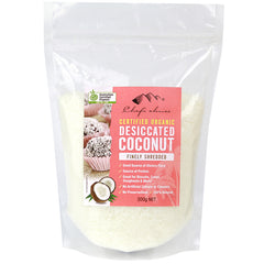 Chef's Choice Organic Finely Shredded Desiccated Coconut 300g