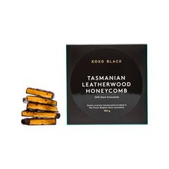 Koko Black Tasmanian Leatherwood Honeycomb Dark Chocolate 100g