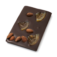 Koko Black Dark Chocolate Dark Zesty Orange and Almond 100g