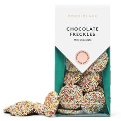 Koko Black Milk Chocolate Freckles 100g