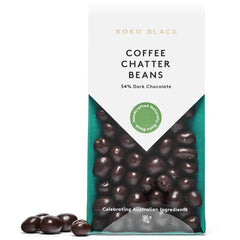 Koko Black Dark Chocolate Coffee Chatter Beans 100g