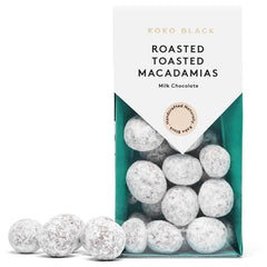 Koko Black Roasted Toasted Macadamia Milk Chocolate 100g
