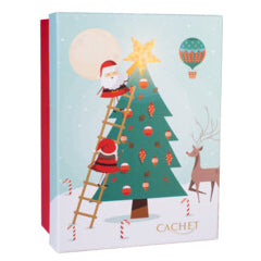 Cachet Chocolates in Santa and Reindeer Gift Box | Harris Farm Online