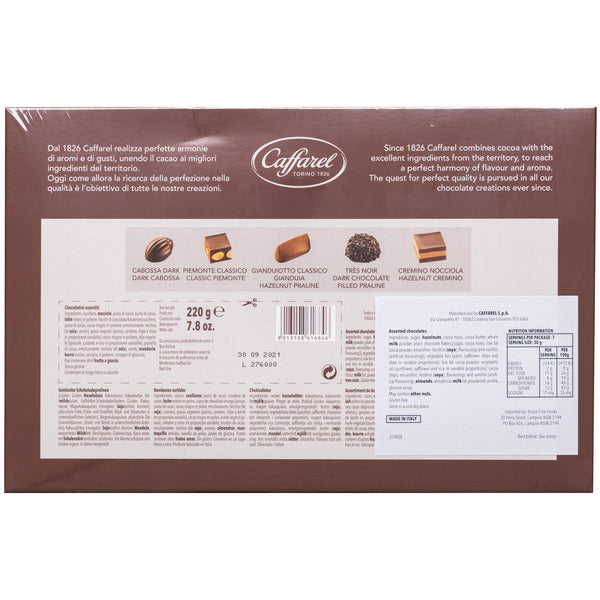 Caffarel Assorted Chocolate Pralines Gift Box | Harris Farm Online
