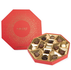 Cachet Assortment Chocolates Red Octagon Box  | Harris Farm Online