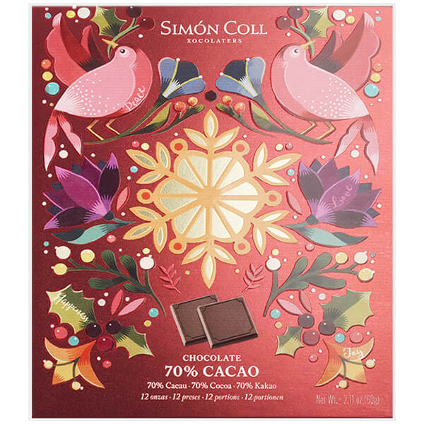 Simon Coll 70% Dark Chocolate Napolitans Gift Box | Harris Farm Online