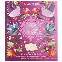 Simon Coll White Chocolate with Strawberry Gift Box | Harris Farm Online