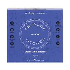 Franjos Kitchen - Biscuits Cacao & Chia (140g)