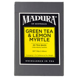 Madura - Green Tea and Lemon Myrtle (20 Teabags, 30g)