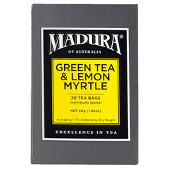 Madura - Teabags - Green Lemon (20s)