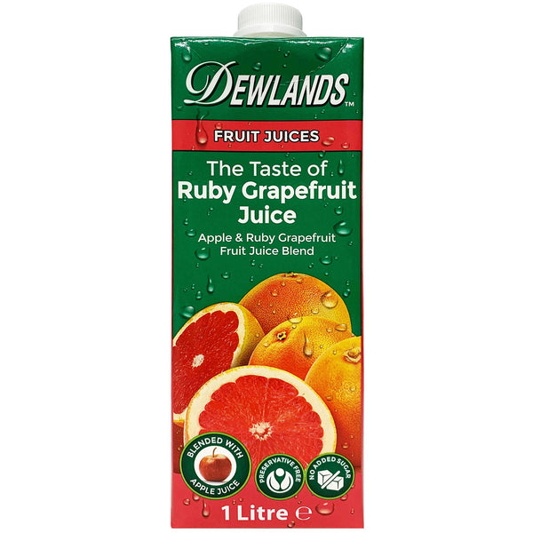Dewlands - Juice Ruby Grapefruit (1L)