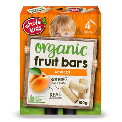 Whole Kids - Organic Fruit Bars - Apricot (4 Bars, 100g)