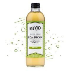 Mojo - Drinks Kombucha Org Sparkling Probiotic - Original (330mL)