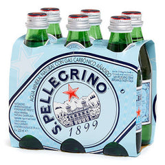 San Pellegrino - Sparkling Water - Glass Bottles (6 X 250ml)