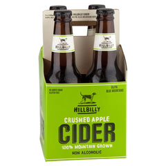 Hillibilly Crushed Apple Cider 4 x 330mL , Frdg1-Drinks - HFM, Harris Farm Markets  - 1