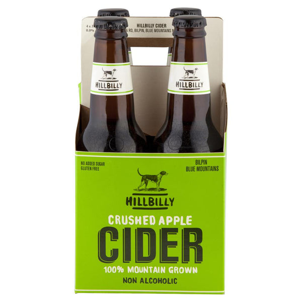 Hillibilly Crushed Apple Cider 4 x 330mL , Frdg1-Drinks - HFM, Harris Farm Markets  - 2