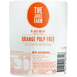 The Juice Farm - Juice Orange Pulp Free - Large (2L)