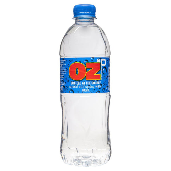 Oz Natural Spring Water 600ml , Grocery-Drinks - HFM, Harris Farm Markets  - 1