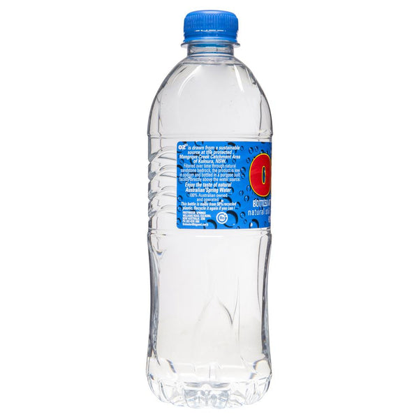 Oz Natural Spring Water 600ml , Grocery-Drinks - HFM, Harris Farm Markets  - 2