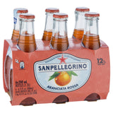 San Pellegrino Aranciata Rossa 6 X 200ml , Grocery-Drinks - HFM, Harris Farm Markets  - 1