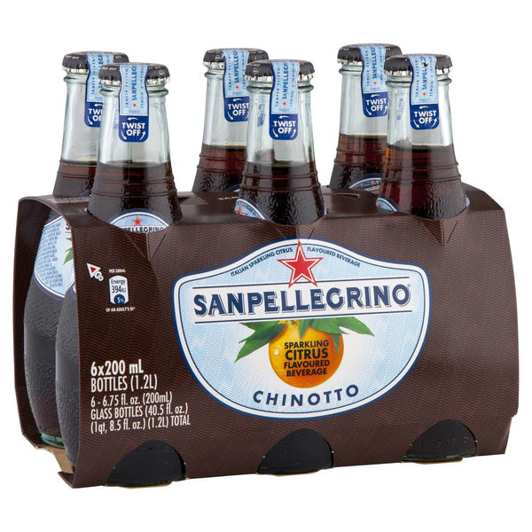 San Pellegrino Chinoto 6 X 200ml , Grocery-Drinks - HFM, Harris Farm Markets  - 1