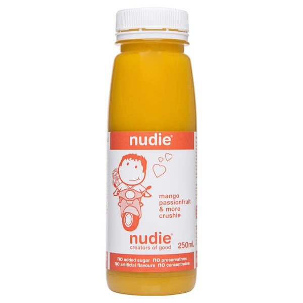 Nudie Mango Passionfruit More Crushie 250mL , Frdg1-Drinks - HFM, Harris Farm Markets  - 1