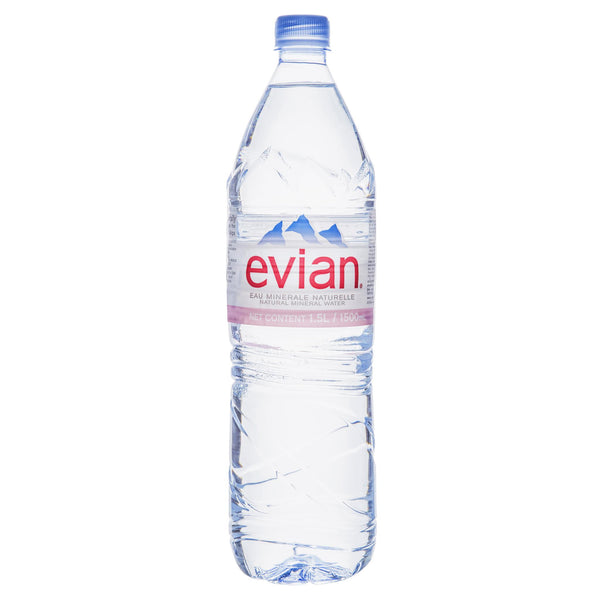 Evian Spring Water 1.5L , Grocery-Drinks - HFM, Harris Farm Markets  - 1