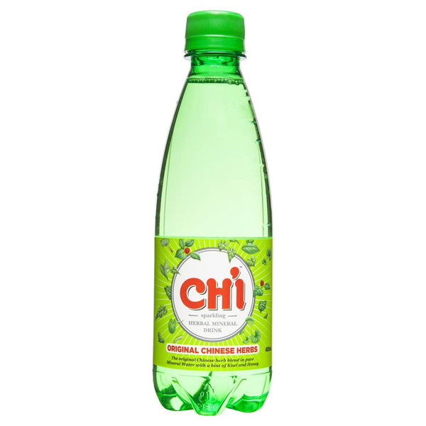 Chi Sparkling Herbal Mineral Drink 400mL , Grocery-Drinks - HFM, Harris Farm Markets  - 1