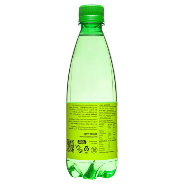 Chi Sparkling Herbal Mineral Drink 400mL , Grocery-Drinks - HFM, Harris Farm Markets  - 2
