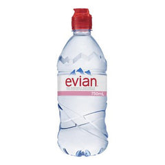 Evian Natural Mineral Water Sports Cap 750ml
