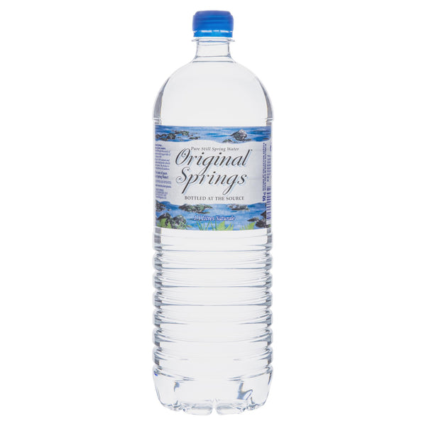 Original Springs Water 1.5L , Grocery-Drinks - HFM, Harris Farm Markets  - 1