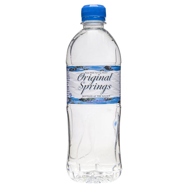 Original Springs Water 600ml , Grocery-Drinks - HFM, Harris Farm Markets  - 1