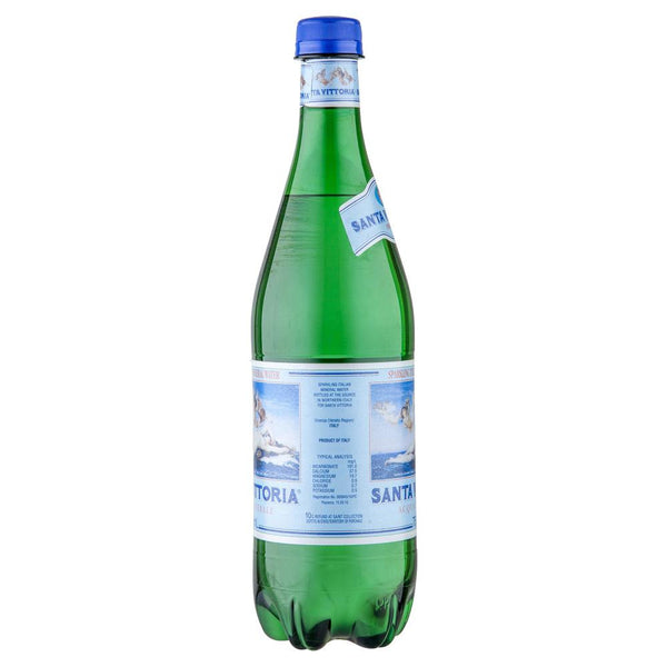 Santa Vittoria Sparkling Mineral Water 750mL , Grocery-Drinks - Harris Farm Markets, Harris Farm Markets  - 2