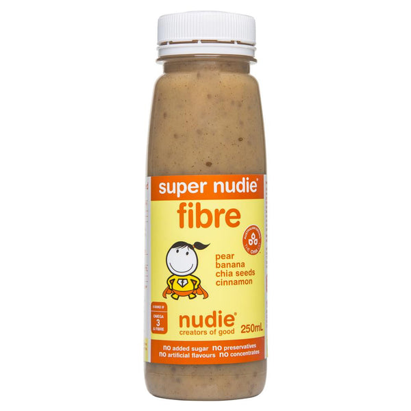 Nudie Super Fibre Pear Banana Chia Seed Cinnamon 250mL , Grocery-Drinks - HFM, Harris Farm Markets  - 1