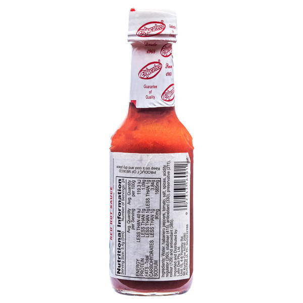 El Yucateco Hot Red Sauce 120ml , Grocery-Cooking - HFM, Harris Farm Markets  - 2