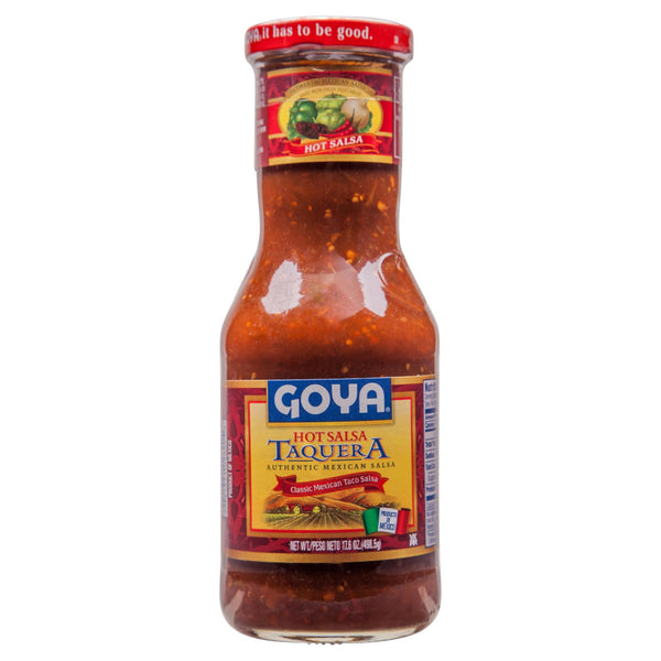 Goya Salsa Taquera Hot 500g , Grocery-Cooking - HFM, Harris Farm Markets  - 1