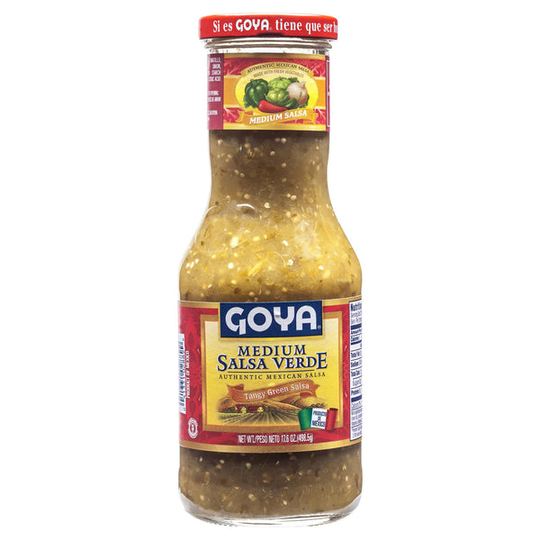 Goya Salsa Verde Medium 500g , Grocery-Cooking - HFM, Harris Farm Markets  - 1